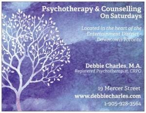 Toronto Psychotherapy Saturdays